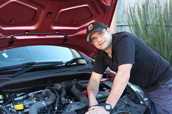 European car mechanic