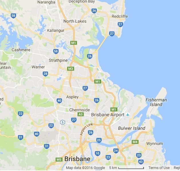 Mobile-mechanic-Brisbane-north-map